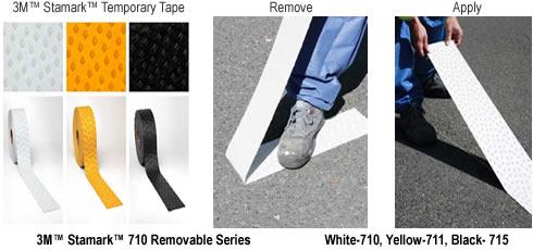 3M™ Stamark™ Removable Pavement Marking Tape