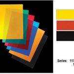 Economical imaging film for low-volume signage